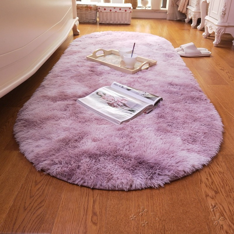 Oval Variegated Shaggy Carpet Livingroom Home Decor Bedroom Carpet Soft Fluffy Rug Modern Kids Room Fur Rug Cloakroom Floor Mat Carpet Aliexpress