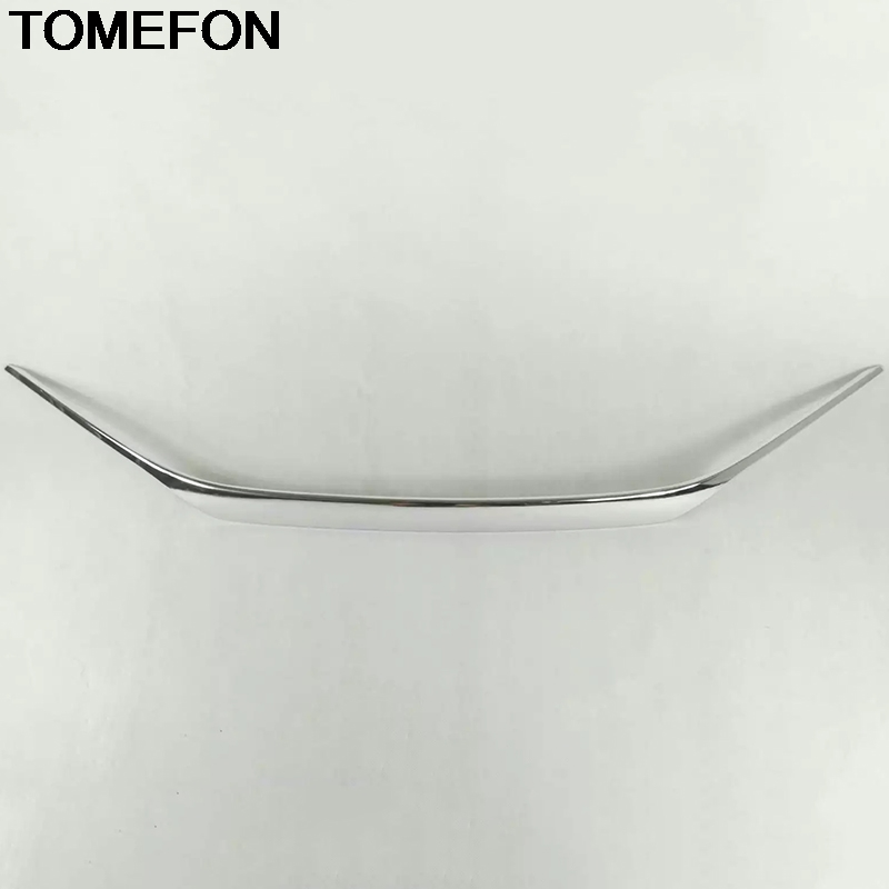 TOMEFON For Honda Civic 10th 2016 2017 2018   Car Front Grille Bumper Hood Grill Grilles Decoration Cover Trim Exterior ABS|Chromium Styling| |  - title=