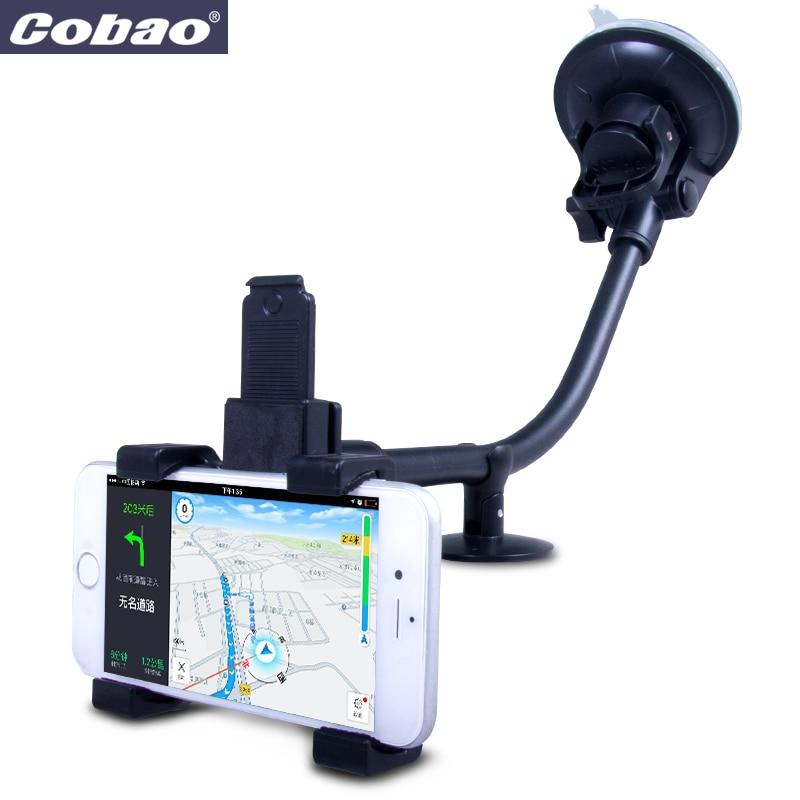 Cobao Universal Car Phone Holder Suporte Movil Car for iPhone 7 6 Cell Phone Stand Mobile Car Holder Suporte Para Celular Carro