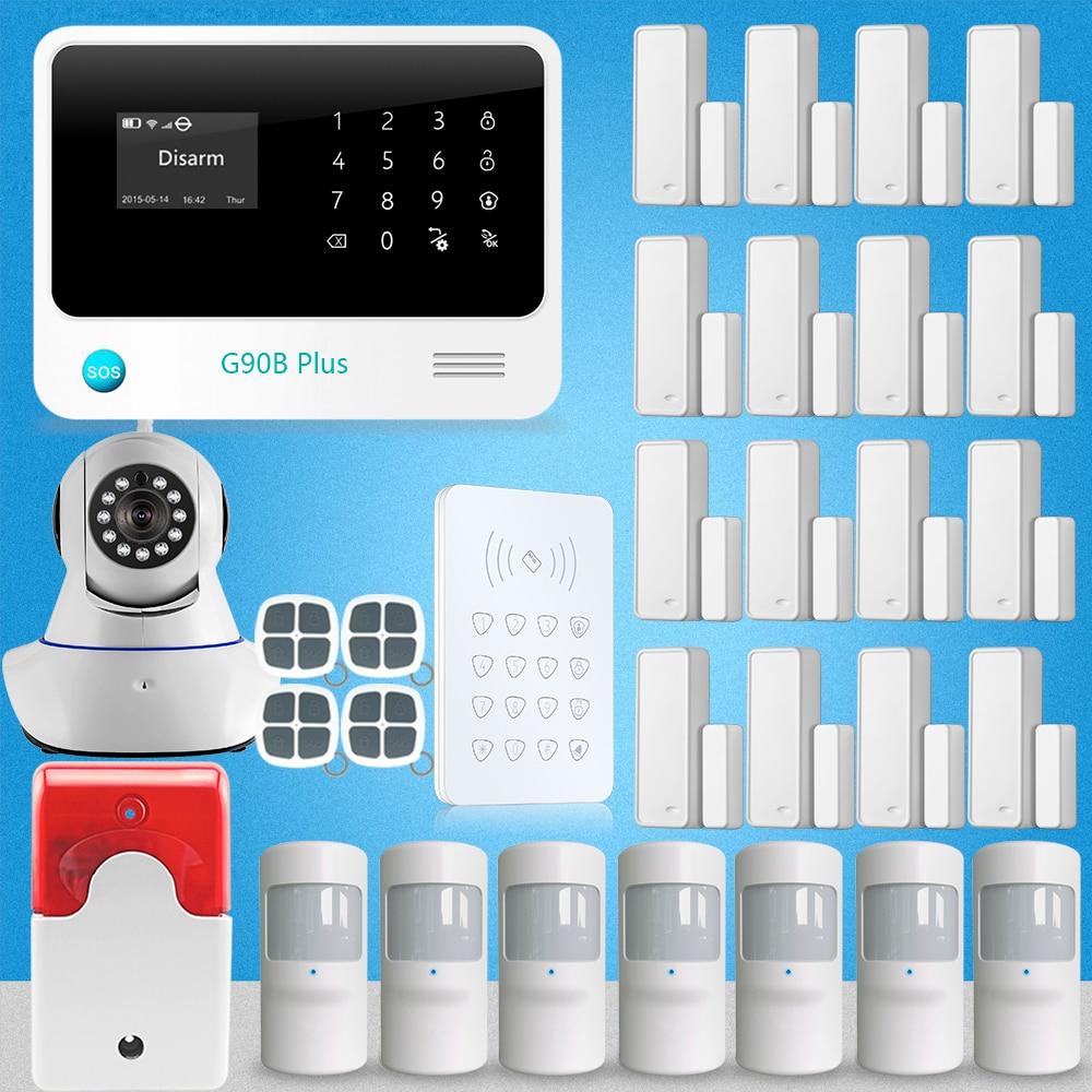 APP Control Wireless Home House Alarm Security System Autodial WIFI IP  Camera PIR Motion Sensor Home Design Part 67