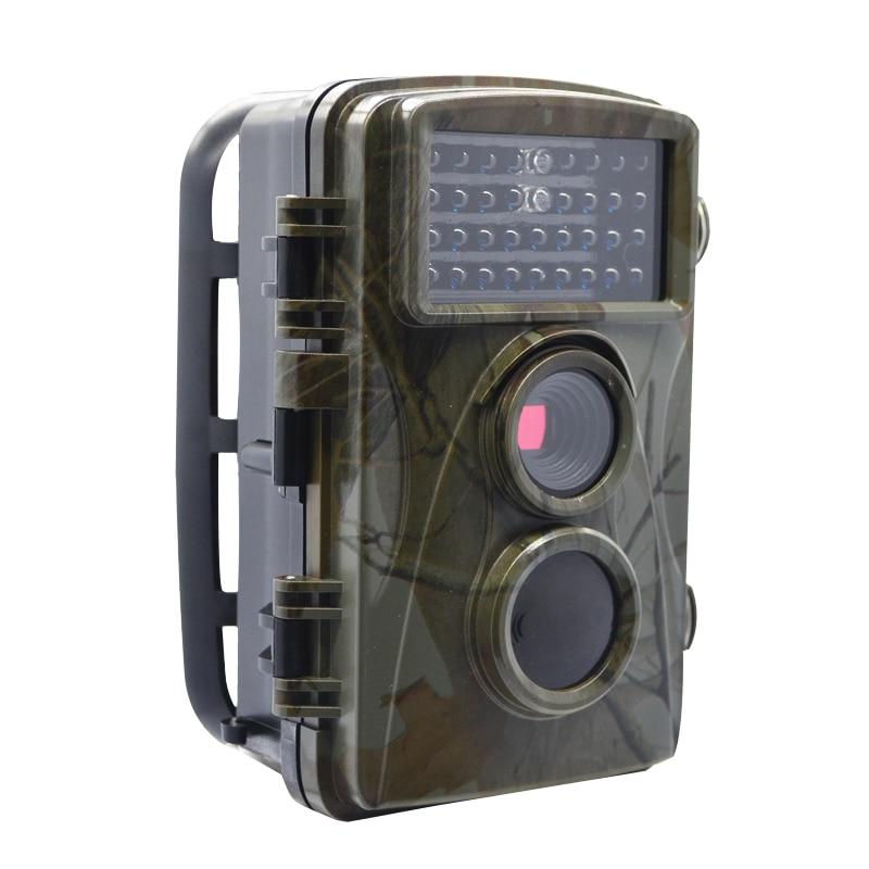 0 2s Fast Shooting Digital Trail Cameras 1080P Hunting Cameras Trap Game Cameras Black IR