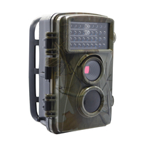 0 2s Fast Shooting Digital Trail Cameras MMS 1080P Hunting Cameras Trap Game Cameras Black