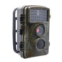 0 2s Fast Shooting Digital Trail Cameras MMS 1080P Hunting Cameras Trap Game Cameras Black
