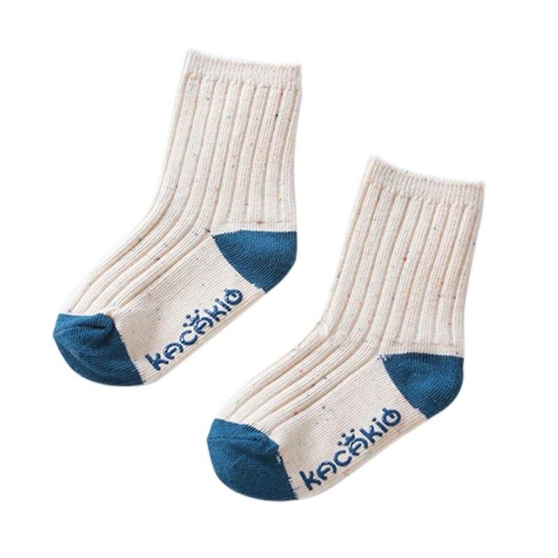 New Spring Cute Baby Boys Girls Little Color Yarn Socks Non Slip Botton Infant Socks LH6s