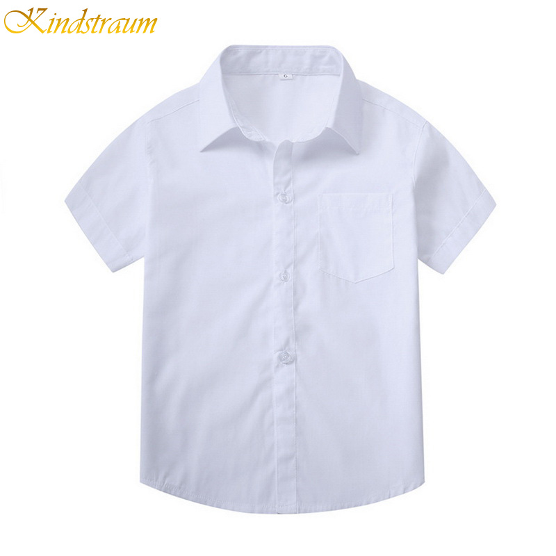 Buy Kindstraum Boy Solid Shirt Short