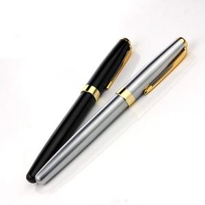 Image 5 - 5 Pz/lotto Baoer 388 Golden Arrow Clip Della Penna Roller 5 di Colore Diverso Penne A Sfera Roller Luxury Penna A Sfera per il Natale regalo