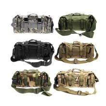 Paquete de La Cintura al aire libre Táctico Militar Molle 3L Impermeable Oxford Bolsa de Camping Senderismo Mochila Bolsa de Portátil Bolso de La Cintura