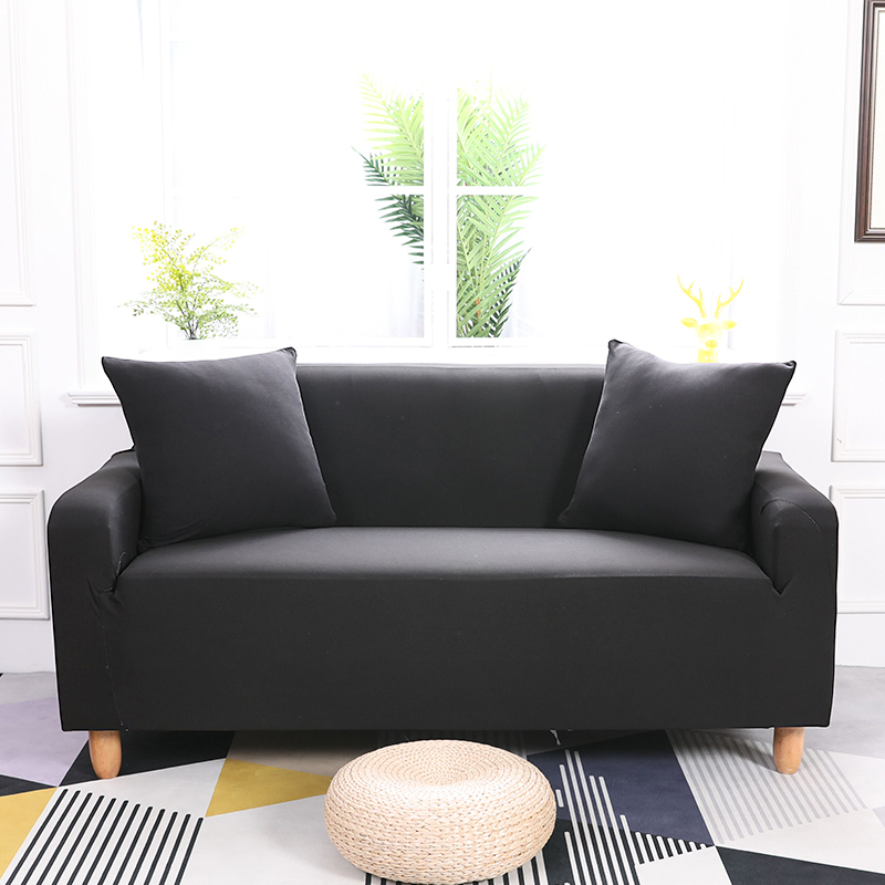 Solid Color Universal Couch/Corner Sofa Covers For Living