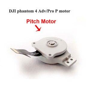 Image 5 - Pièces de réparation de moteur de cardan fantôme dorigine rouleau de caméra de cardan/pas/support de moteur de lacet pour accessoires DJI Phantom 4 AdvPro Advance