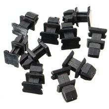 10 Pcs/Set Door Plastic Panel Clip Push Retainer Body Panel Clips For Mercedes for Benz W124 R129 W140 W202