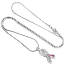 Cancer Awareness Ribbon Urn Necklace