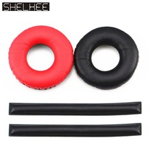 SHELKEE Replacement Ear Pads foam earpads For Sennheiser HD25 HD25-1 HD25-II HD25SP 25SP-II headphones Repair parts 5n ofc pure copper hd580 hd600 hd650 hd25 hd25 1 hd25 1 ii headphone upgraded cable