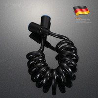 Excellent Matte Black ABS Flexible Shower Hose Bath room shower set accessories Explosion proof pipes