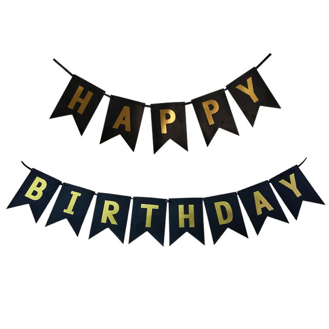 Happy Birthday Paper Banner