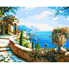 Christmas Gift On Canvas DIY Handpainted Painting Coloring By Numbers Home Decor Romantic Oil Painting By