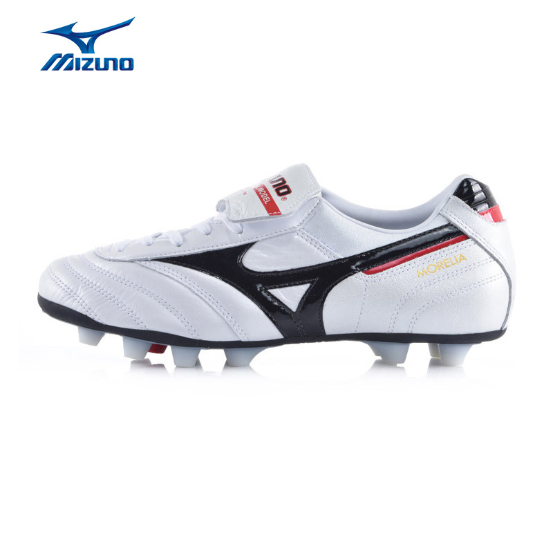 MIZUNO Men's MORELIA MD Soccer Shoes Breathable Comfort Cushioning Sneakers Sports Shoes P1GA150409 YXZ035 2008 donruss sports legends 114 hope solo women s soccer cards rookie card