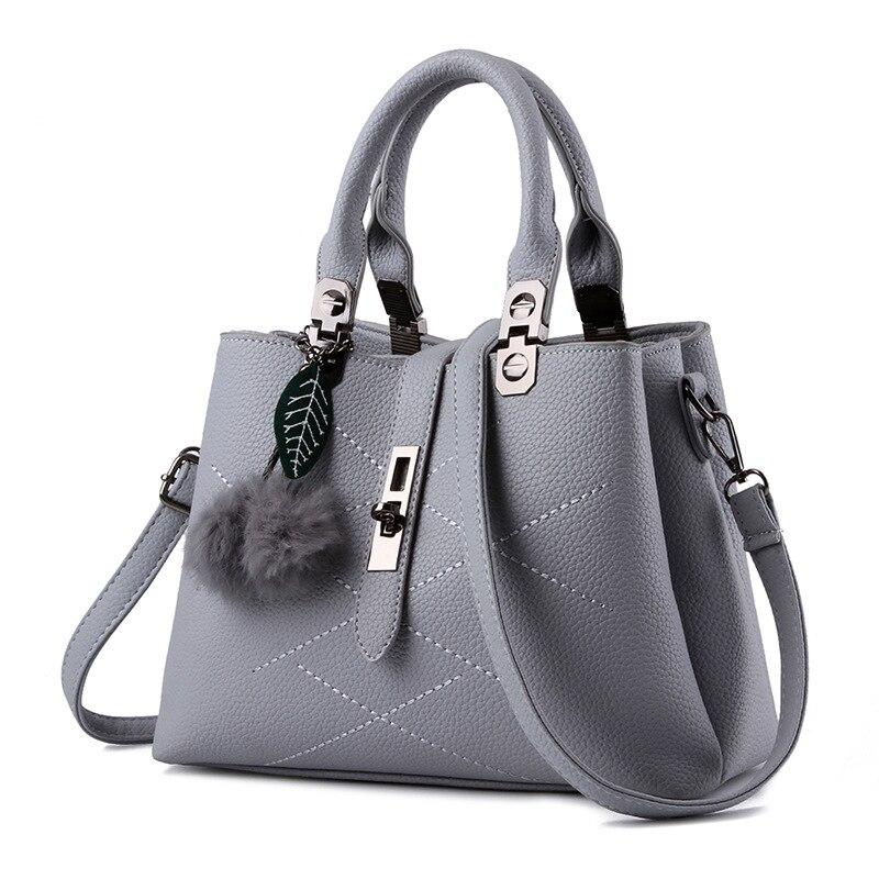 Qadınlar üçün çanta dəri çantaları 2018 qadın moda - Çantalar - Fotoqrafiya 4