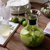 1PC 1200ml Puer Tea Pot Coffee pot Heat Resistant Glass Teapot Convenient home&KitchenTea set JM 1009
