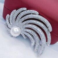 מזל סוני Broche Femme אופנה מלא CZ מיקרו סלול Broches מקדד Bijoux תכשיטי סיכות חיג 'אב סיכות כלה אביזרי Feminino