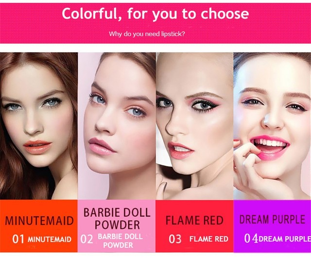Lipstick Magic Color Temperature Change Moisturizer Lipstick