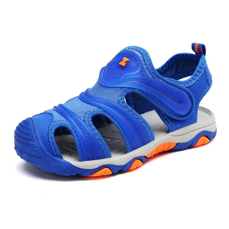 CSXD Kids Boys Girls Sandals Summer Sandalen Beach Non Slip Close Toe Sandals Child Shoes 2017 For Sale