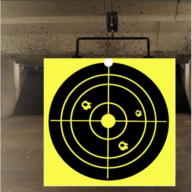 100pcs splash target 4X4 inch viscous reaction shooting target rifle pistol practice