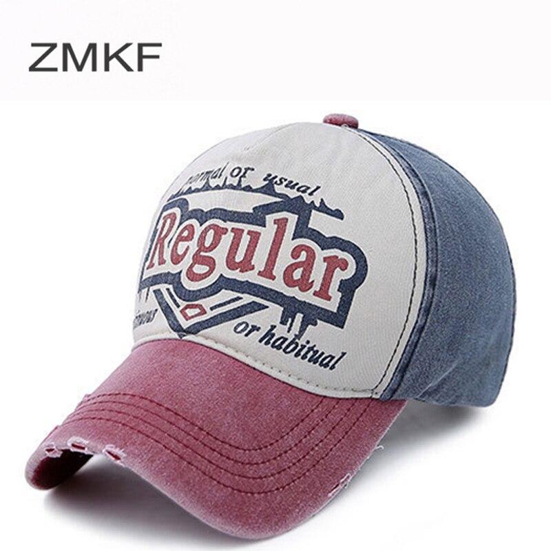 2018 ZMKF Nueva Moda Béisbol Gorras Hombres Mujeres Sombreros Para - Accesorios para la ropa