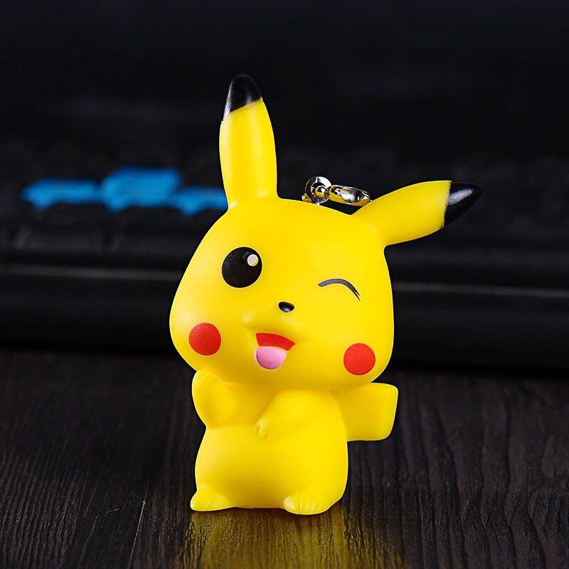Cute Japan Anime Car Accessories Key Chain PIKACHU