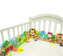 Baby Plush Toys Ruffle Farm lion giraffe Multi-touch Cloth Decorative Colored bed Ruffle Educational Toys 20%Off