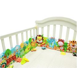 Bebê brinquedos de pelúcia plissado fazenda leão girafa multi-toque pano decorativo colorido cama plissado brinquedos educativos 20% de desconto