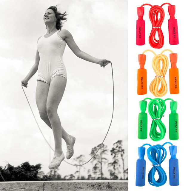 REIZ Universal Advenced Bearing Skipping Jump Rope Adjustable Sport Fitness Exercise Equippment