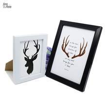 LumiParty Wall-Hanging Photo Frame Creative Picture Frame Home Decoration Gift (Random Samples Inside Frame)-25(China)