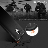 Oneplus 3 Case Luxury 360 Full Body Cover For One Plus 3 Oneplus 3T Phone Brushed
