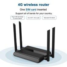 WE5926 routeur Wi Fi 300 mb/s, avec fente pour carte sim, et 4 antennes 5dbi, compatible modem 4g lte, vpn pptp et l2tp, openvpn