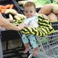 OkayMom Bebé Compras Cubierta Cubiertas de Alta Calidad de Bebé Trona Contra Sucio Bebé Asientos de Seguridad Para niños A Rayas Nylon Silla de Bebé