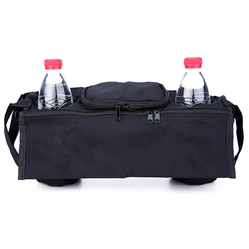 Multifunctional Baby Stroller Bag Infant Nappy Bags Outdoor Carriage Hanging Bottle Storage Organizer WaterProof Mummy Bag J75(China)
