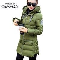 Big Size 7XL Winter Jacket Women 2017 New Europe Style Hooded Slim Medium Long Winter Plus