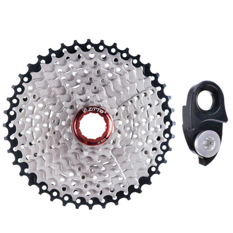 ZTTO 9 Speed 11-40T Mountain Bike Cassettes 9s 40t MTB Bicycle Freewheel for SHIMANO/SRAM long cage derailleur Hanger Extension