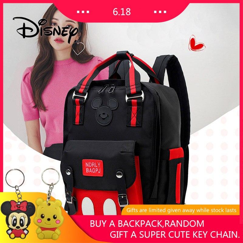 2019 Disney Waterproof Mummy Feeding Bag Mickey Mouse Women Backpack Large Capacity Multifunction Fashion Bags