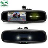 "GreenYi HD 4.3"" Special Bracket Auto Dimming Interior Mirror Monitor Auto Anti-Glare Mirror Car Parking Monitor For VW Fort Kia"