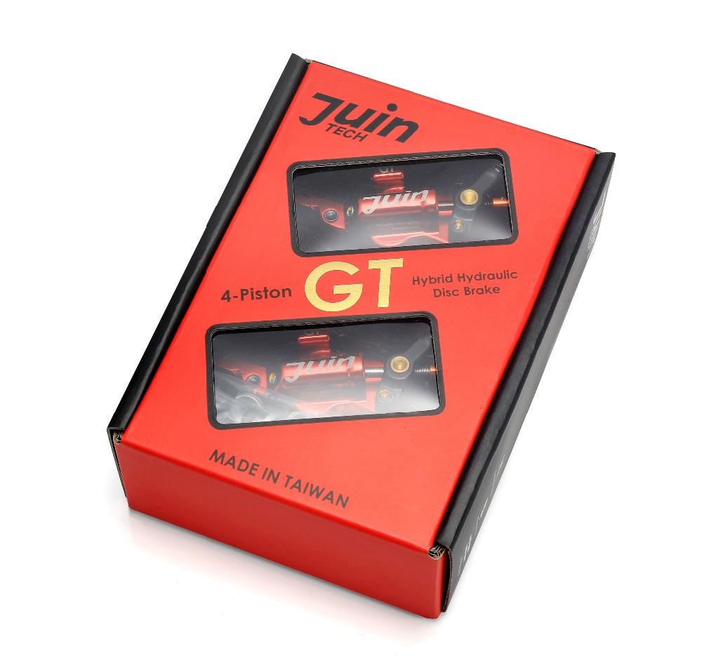 Juin Tech GT-P Linea di Tiro A Disco Idraulico pinza Freno Strada CX Ghiaia 160 millimetri doppio lato di attuazione freno della bici da ciclocross