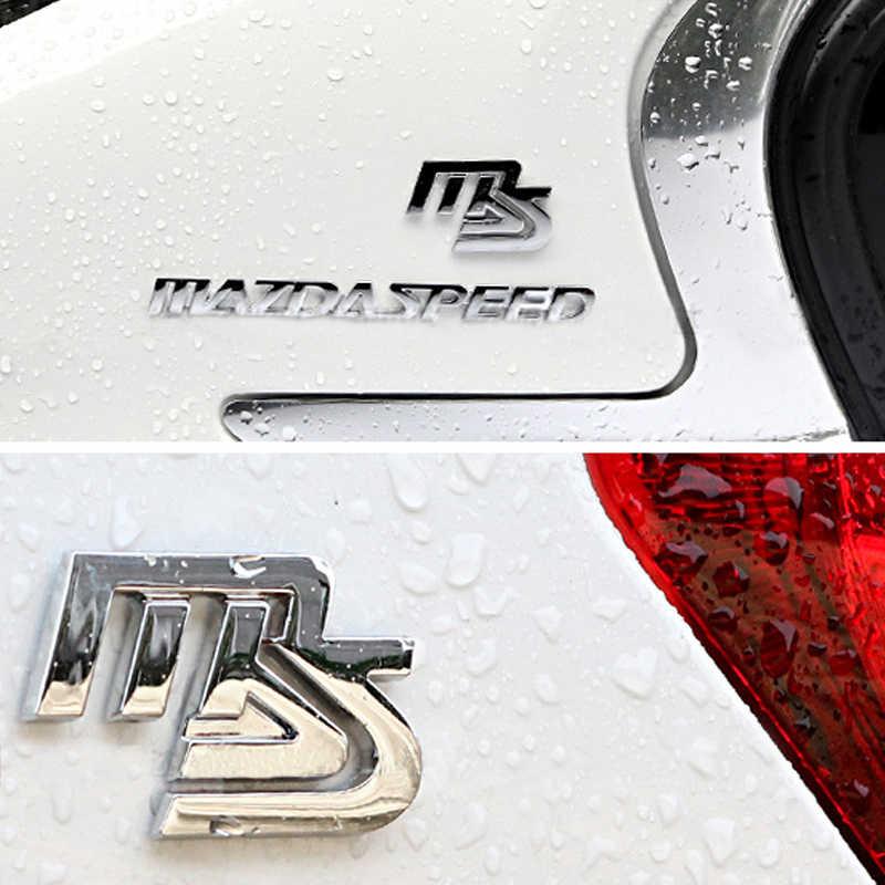 Dsycar, 1 шт., 3D металлический MAZDASPEED, автомобильное боковое крыло, задний багажник, эмблема, значок, наклейка, наклейка для MAZDA 3 6, автомобильный Стайлинг, декоративная
