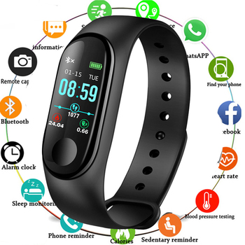 New Smart Sport Watch Waterproof Fitness Watch Blood Pressure Heart Rate Monitor Pedometer Smart Watch men for Android iOS