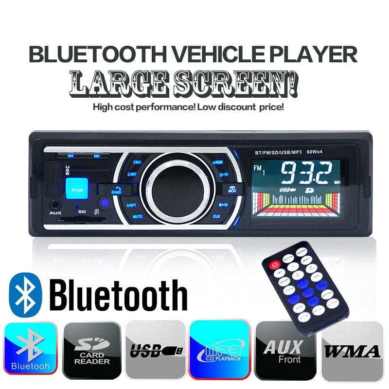 Envío de la gota 12 V Bluetooth Radio FM Estéreo Del Coche MP3 Reproductor de Au