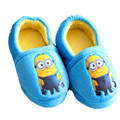Children And Family Shoes Cotton Slippers 2016 New Winter Wheat Minions Christmas Slippers Winter Warm Shoes TCCS6089