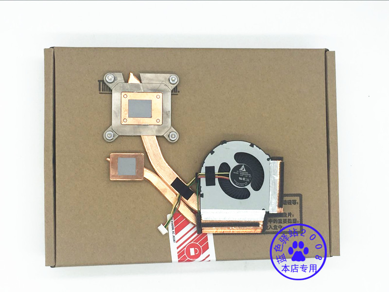New CPU <font><b>Fan</b></font> Heatsink For Lenovo ThinkPad <font><b>T430</b></font> T430i Discrete Graphics 04X3788 04W3270 04W326 Radiator Cooler KSB0405HA -BE1L image