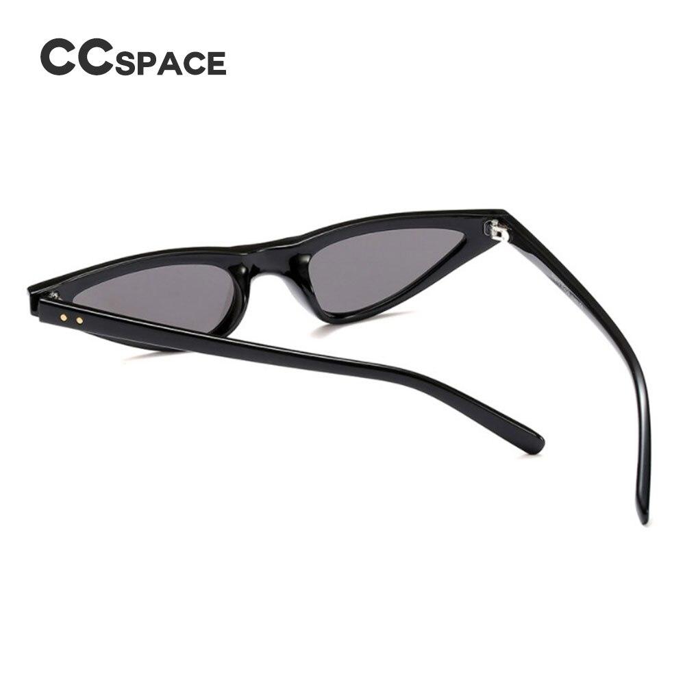 CCSPACE 7 Farben Kleine Rahmen Oval Sonnenbrillen Rivet Frauen Sehr ...