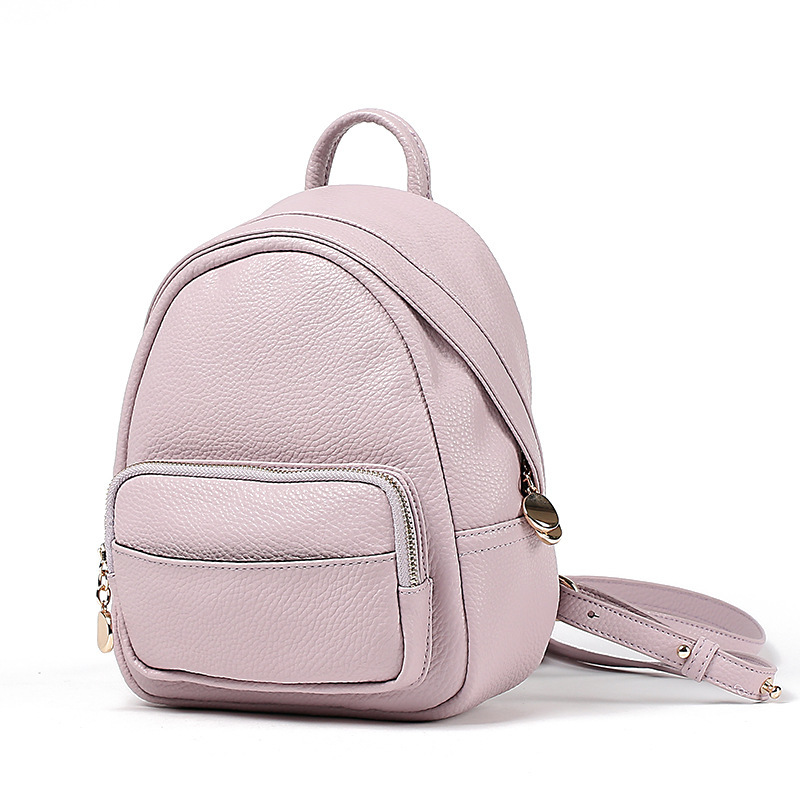 new 2017 outdoors small PU leather women backpack sweet backpack women mini bag for daily use