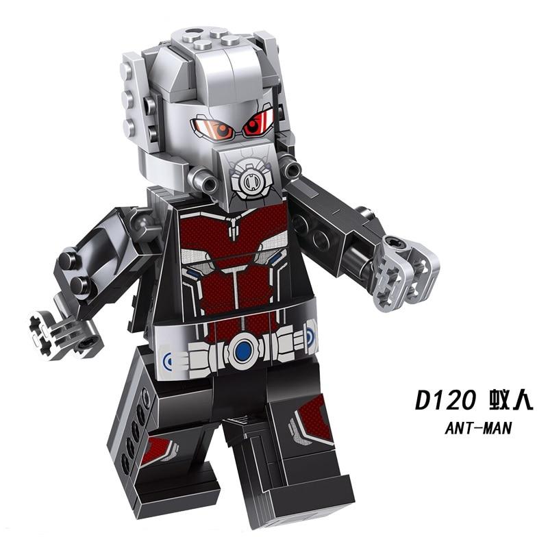 10PCS Quantum Realm Suit Avengers Superhero Mini Figure Building Blocks DIY Toys