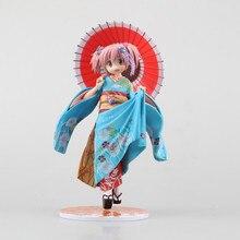 New Retail 1/8 22CM Puella Magi Madoka Magica Kaname Madoka Maiko Ver PVC Action Figure Good Smile Toy